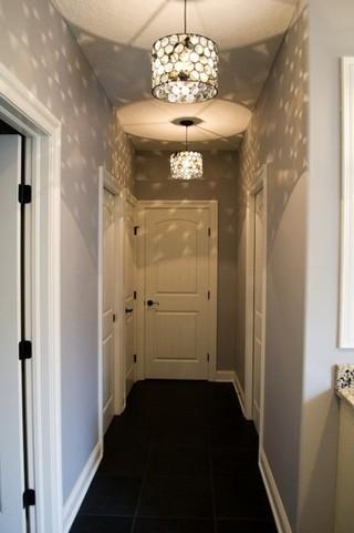 现代简约风格卫生间经济型140平米以上走廊玄关效果图