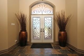 欧式风格富裕型140平米以上公司门厅装修效果图