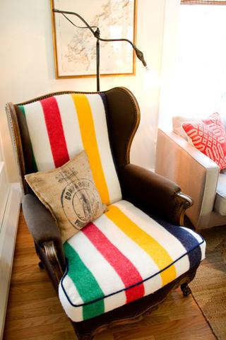混搭风格客厅经济型140平米以上单人沙发床图片