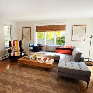 混搭风格经济型140平米以上转角沙发效果图