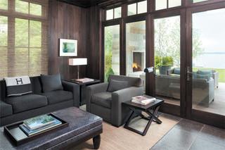 中式简约风格经济型140平米以上2014客厅装修效果图