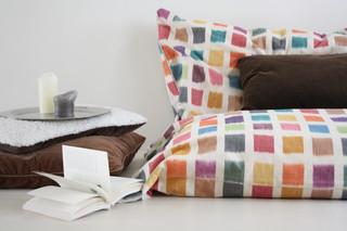 美式田园风格经济型140平米以上沙发垫图片