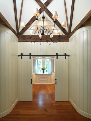 北欧风格客厅富裕型140平米以上别墅门厅设计