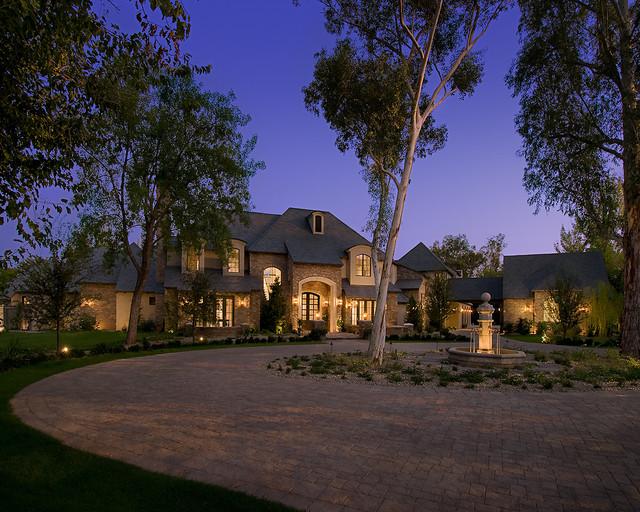 新古典风格卧室富裕型140平米以上一楼花园装修效果图