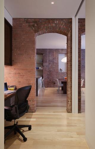 简约风格客厅经济型130平米三室两厅工作区效果图