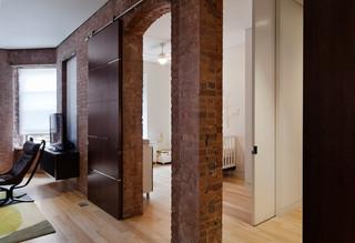现代简约风格客厅经济型130平米家庭欧式过道吊顶效果图