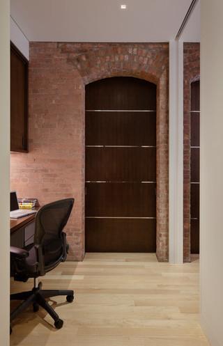 现代简约风格厨房经济型130平米三室两厅门厅背景改造