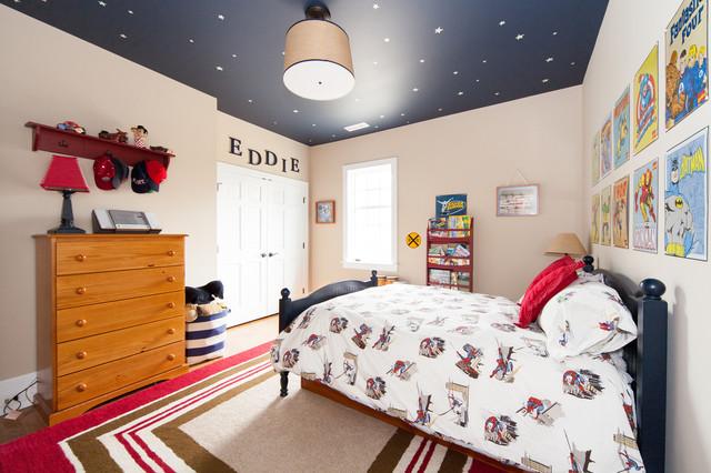欧式风格家具富裕型140平米以上7平方卧室设计图