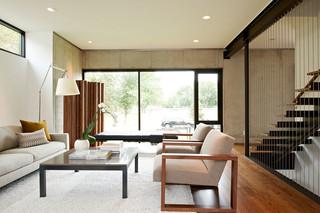 富有现代气息的家  都市中的清新别墅