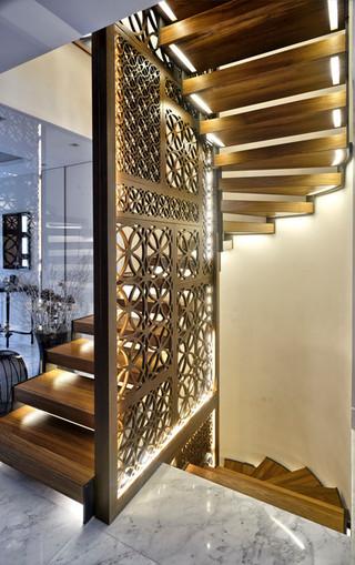 兼容并蓄的空间  中西皆宜的别墅装修