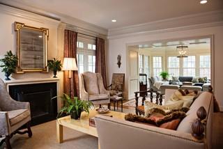 新古典风格别墅设计  房间里洋溢着浪漫的味道