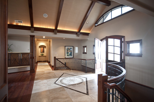 欧式风格复式住宅欧式豪华小复式楼梯效果图-您正在访问第5页 装修效