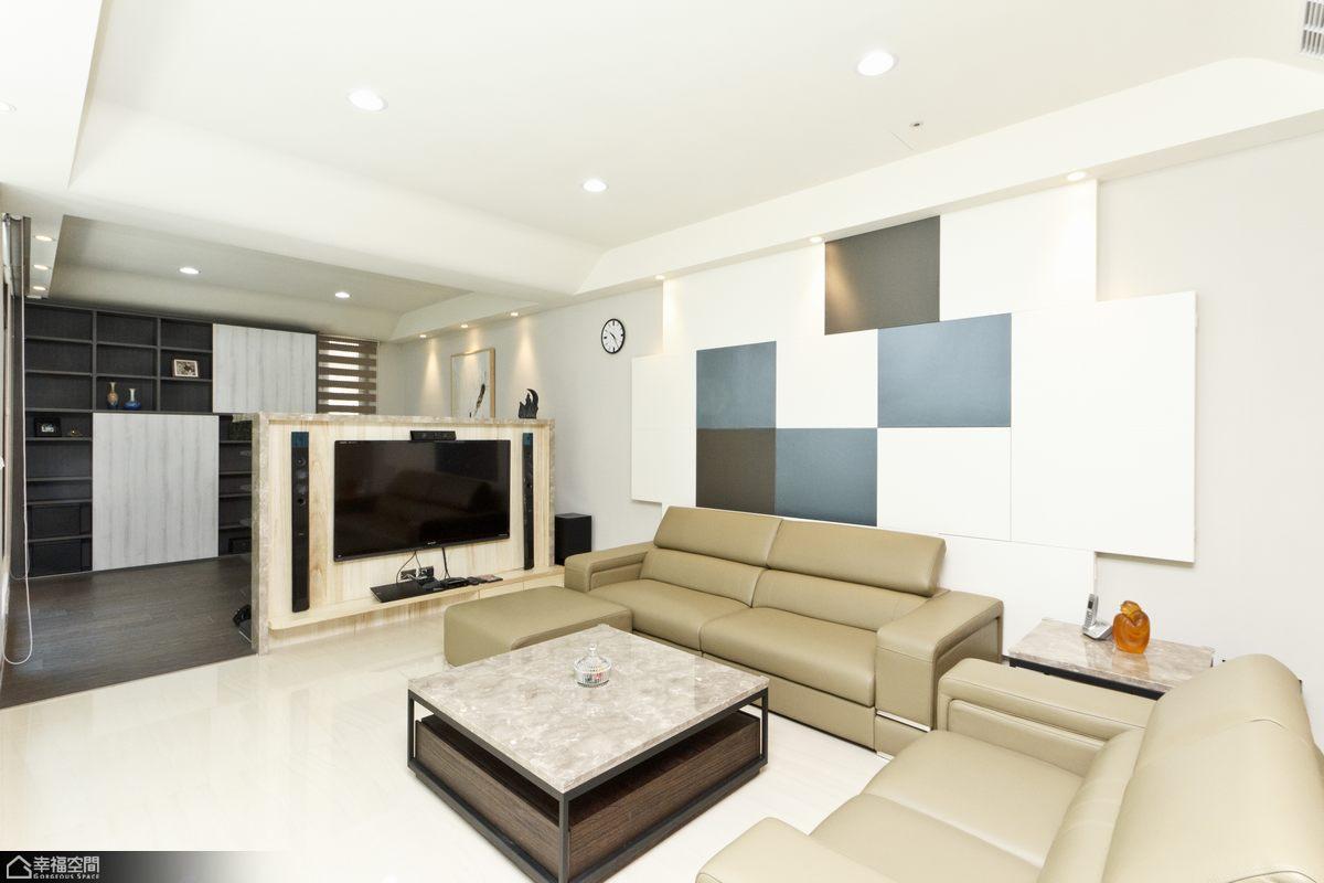 北欧风格别墅温馨沙发背景墙效果图