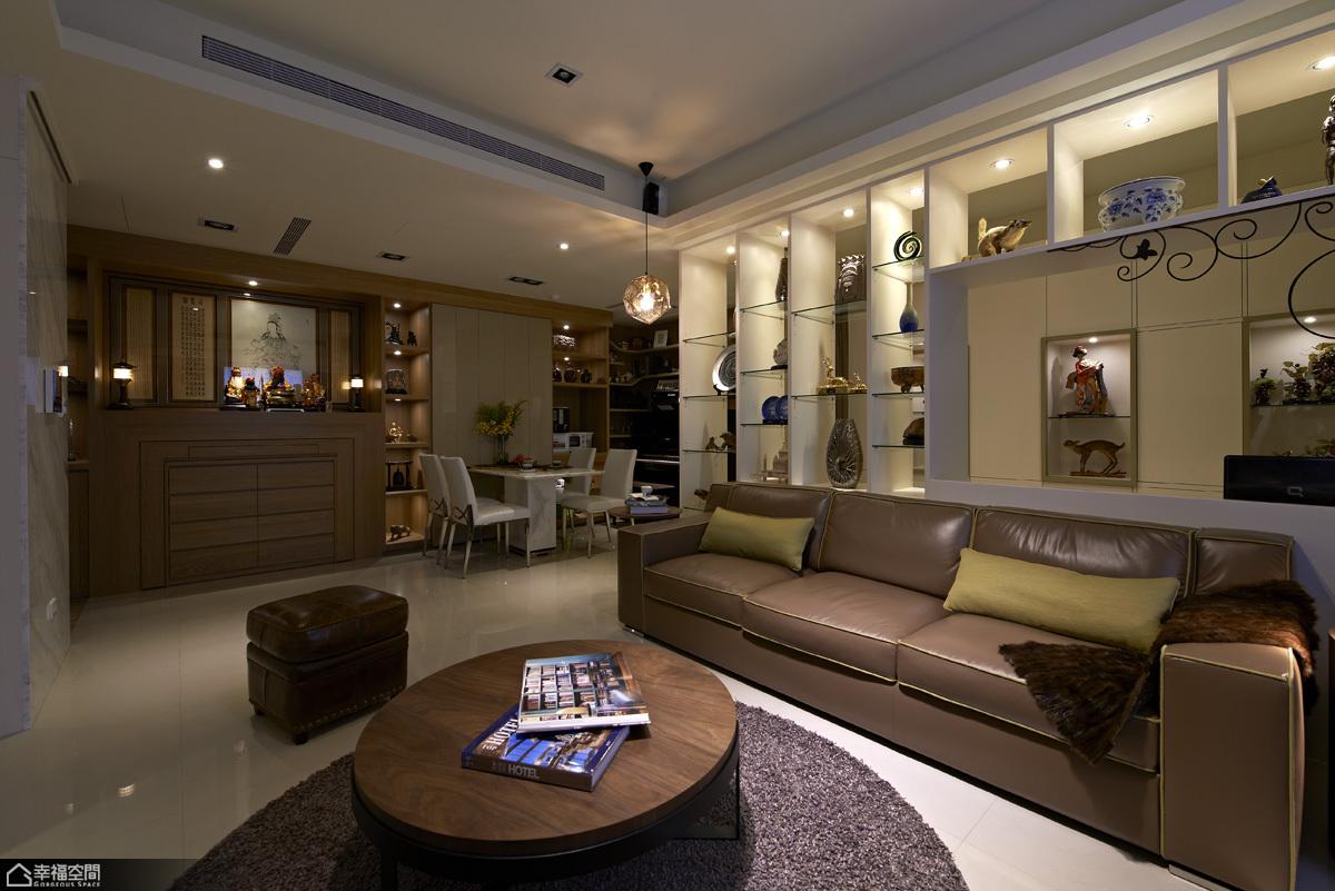 北欧风格公寓温馨装修效果图