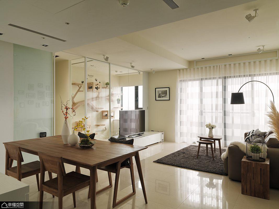北欧风格公寓时尚装修图片_齐家网装修效果图图片
