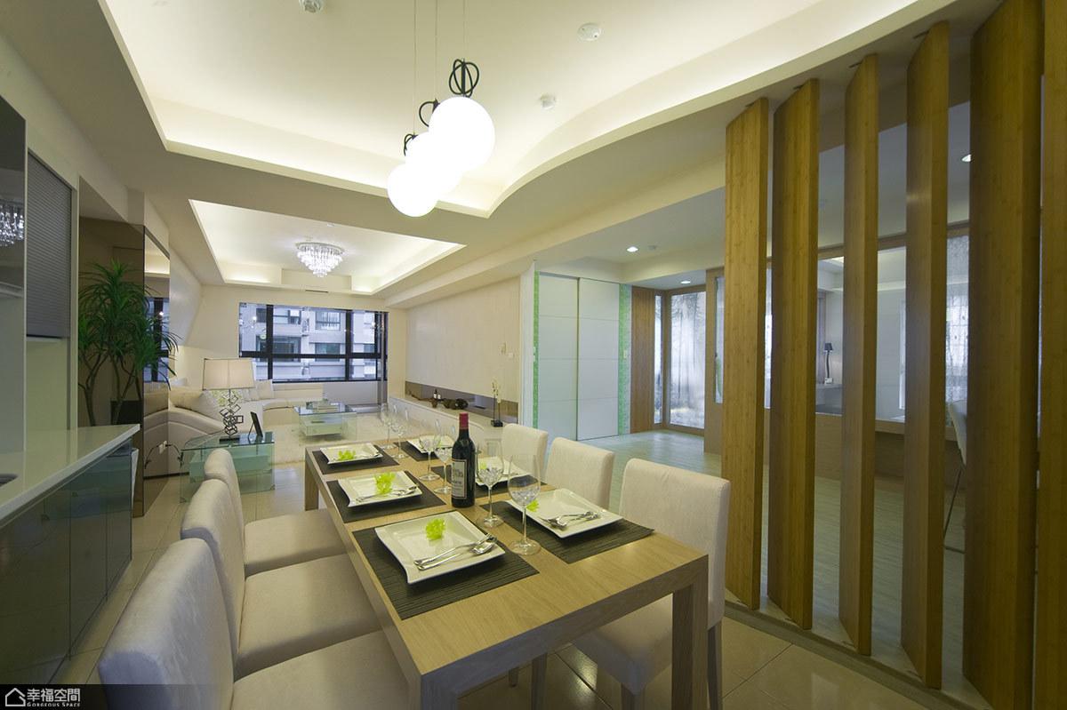 新古典风格海边别墅唯美餐厅装修图片