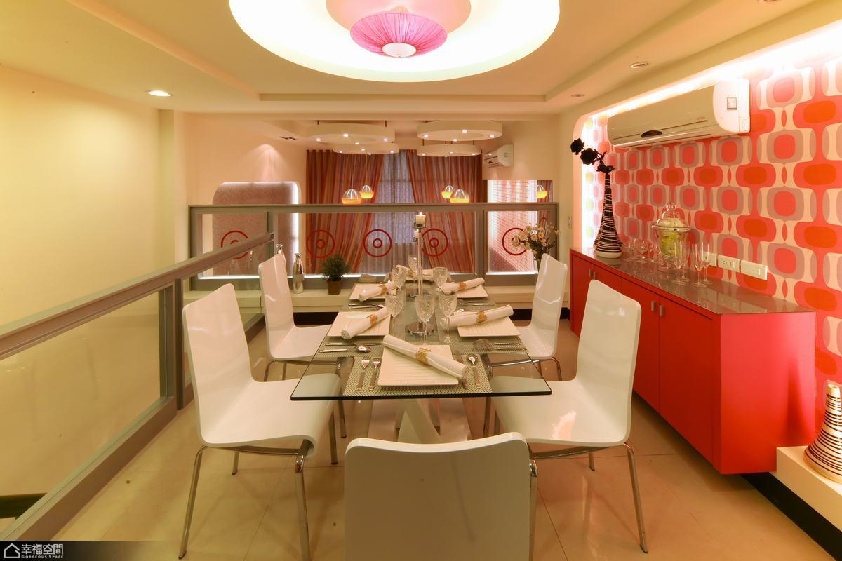 loft风格复式搞怪餐厅改造