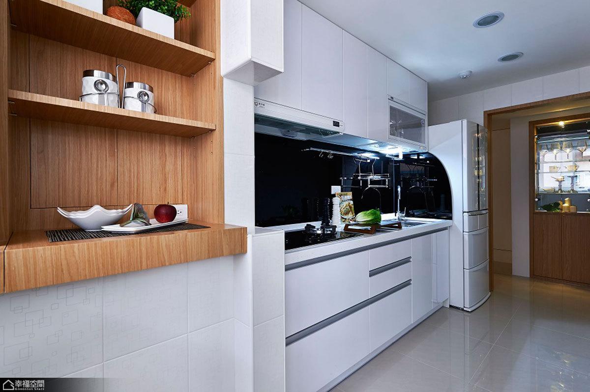 简约风格温馨厨房旧房改造家居图片