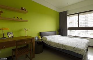 北欧风格公寓舒适卧室装修效果图