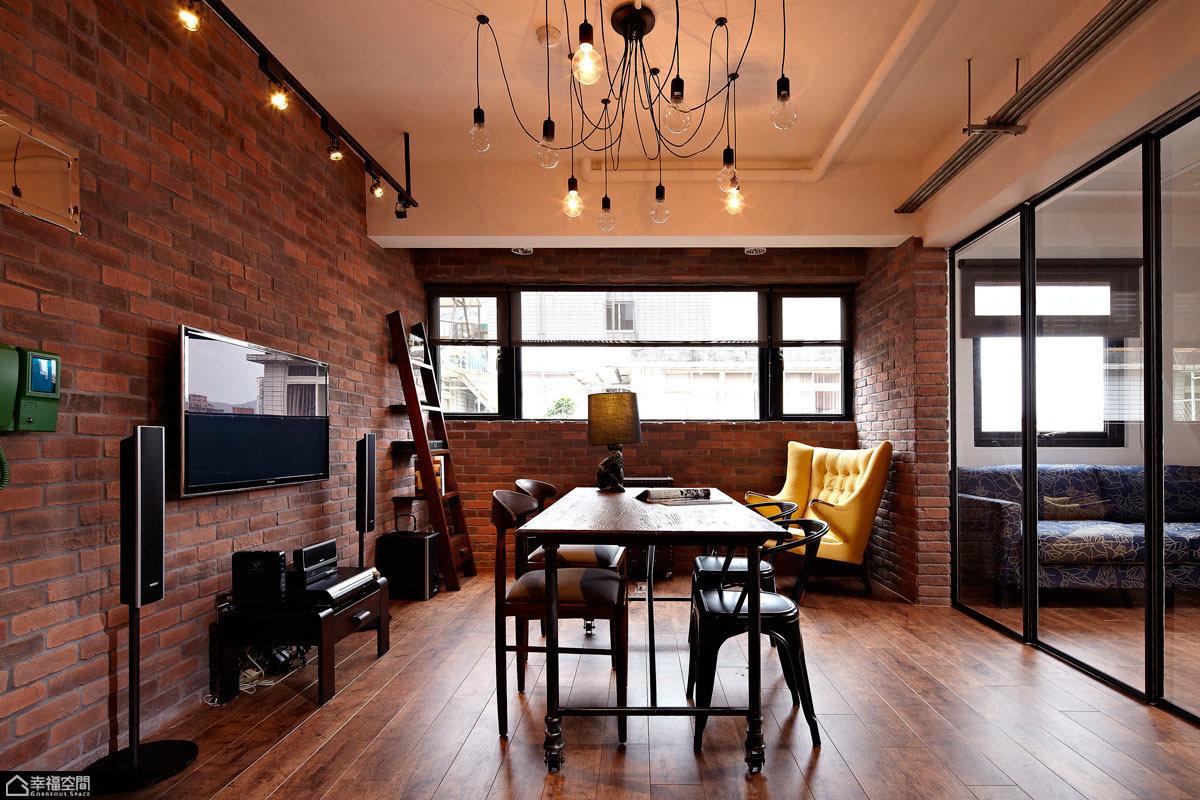 loft风格小户型乐活餐厅装潢