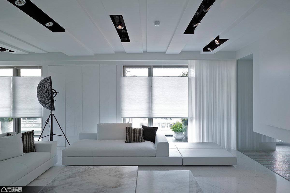 混搭风格客厅艺术家具90平米设计图纸