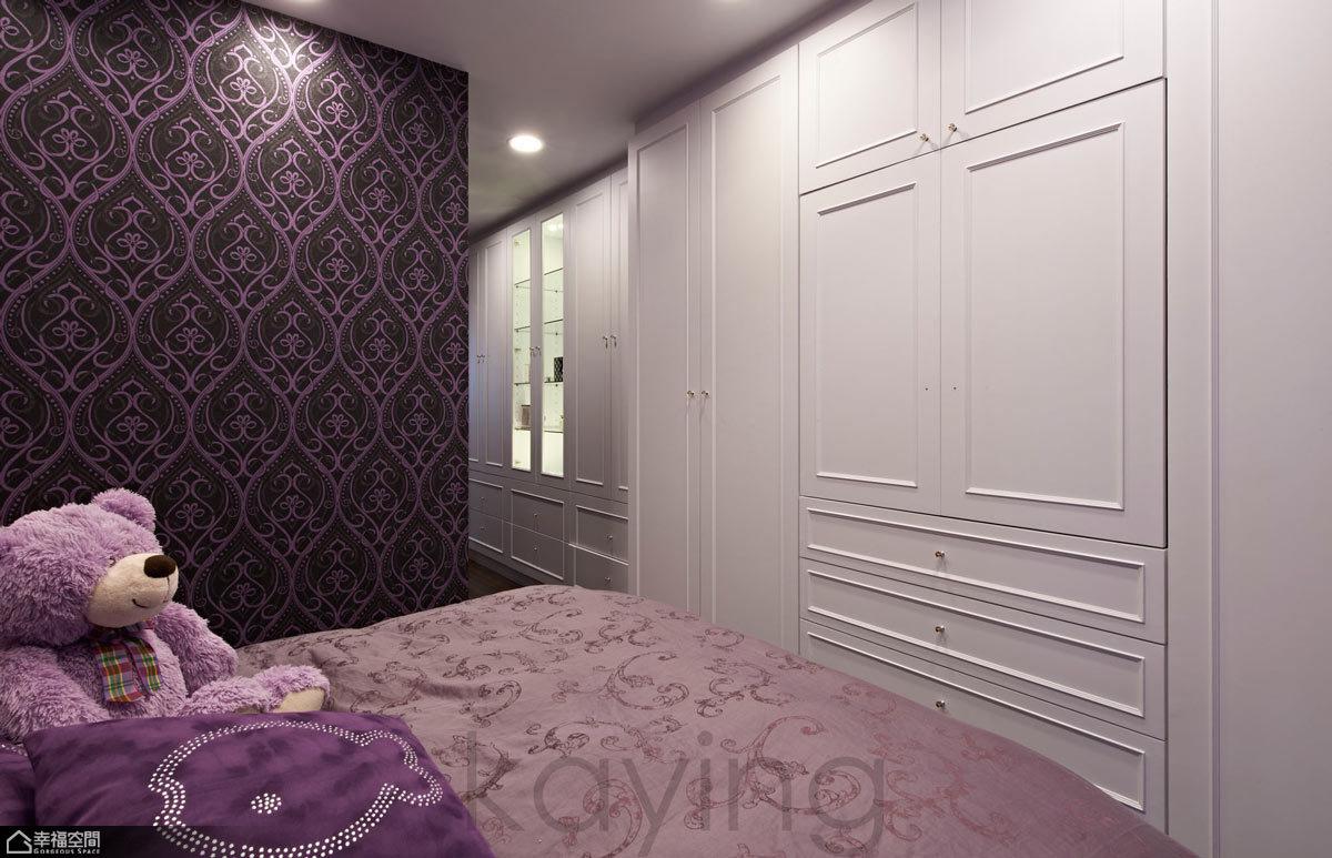 法式公寓床头设计图片_齐家网装修效果图图片
