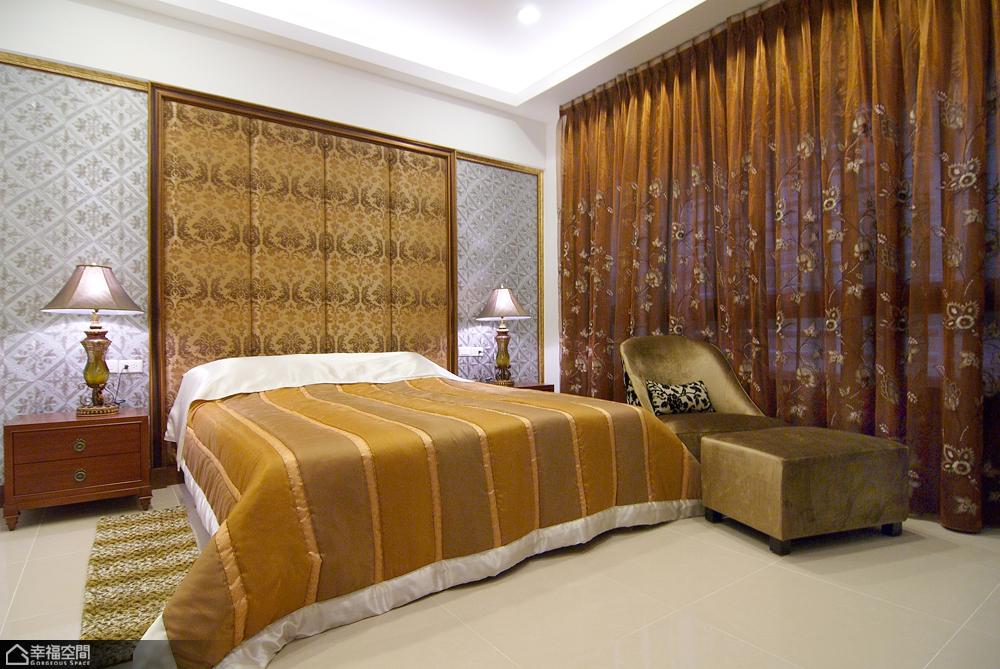 法式风格别墅奢华卧室效果图