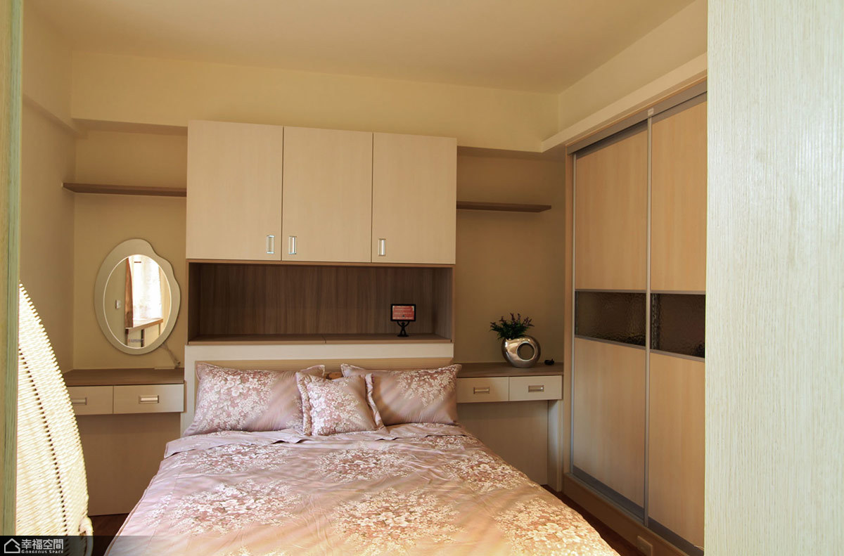 田园风格公寓小清新卧室设计
