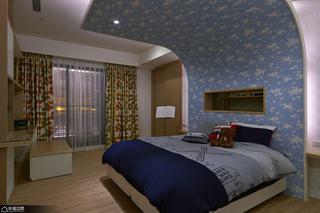 现代简约风格别墅艺术卧室装修