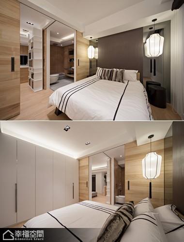 简约风格小户型简洁卧室设计图纸