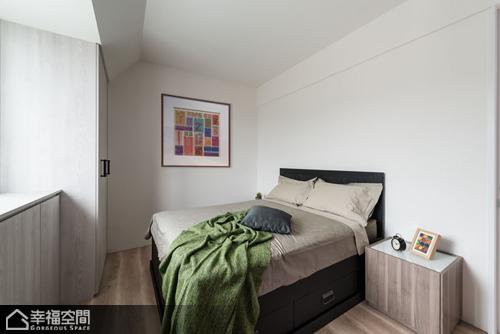 简约风格小户型简洁卧室装修效果图