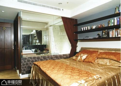 中式风格公寓古典卧室效果图