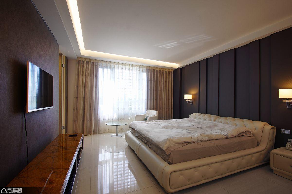 简约风格别墅简洁卧室设计