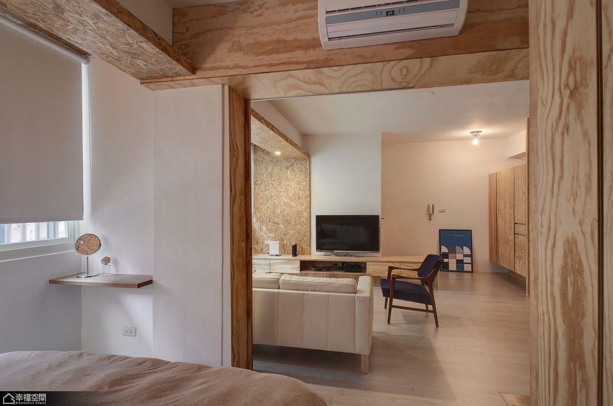 简约风格小户型温馨旧房改造家装图片