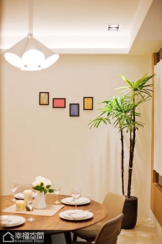 简约风格三居室温馨餐桌效果图