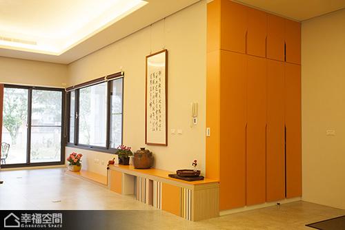 中式风格别墅艺术玄关装修效果图