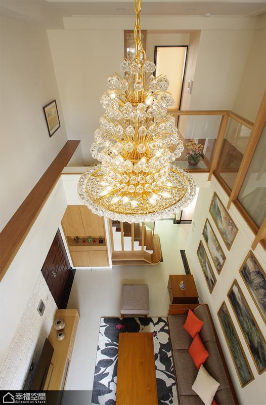 中式风格别墅简洁装修效果图