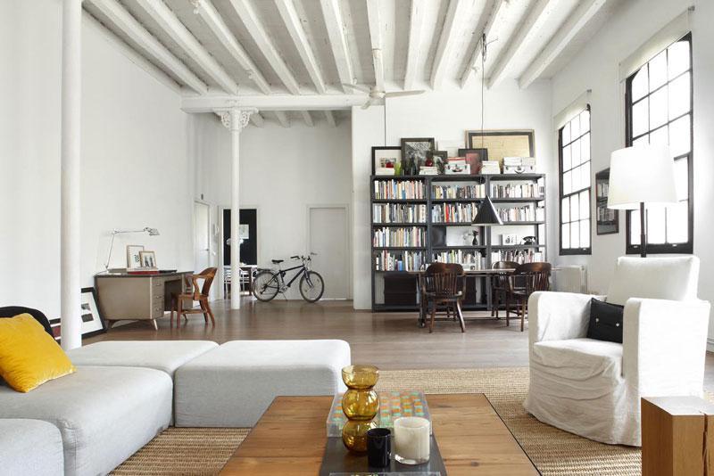 西班牙170平米的白色閣樓