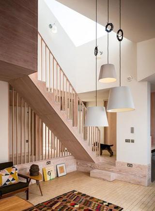 现代木色中性住宅