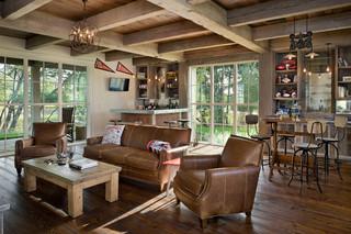 美国农场主的古典舒适小别墅