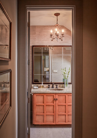 睡美人的家 玫瑰粉色调的别墅装修