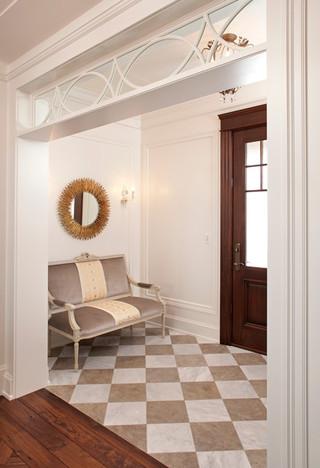 奢华的白色简约风格欧式别墅