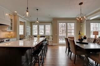 欧式风格富裕型140平米以上客厅过道吊顶装修效果图