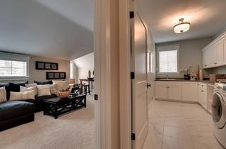 欧式风格客厅富裕型140平米以上洗衣房装修效果图
