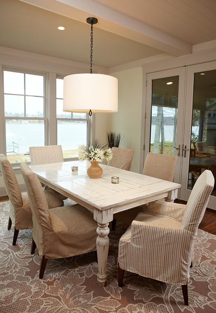 混搭风格富裕型140平米以上大理石餐桌图片