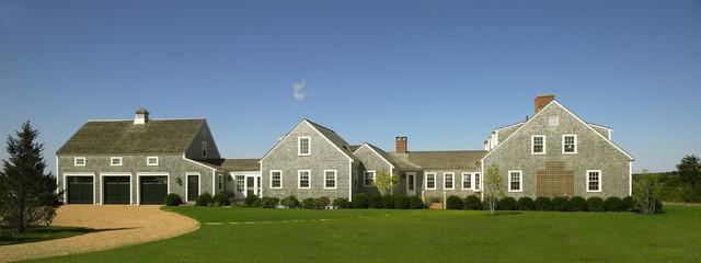 混搭风格富裕型140平米以上庭院围墙效果图
