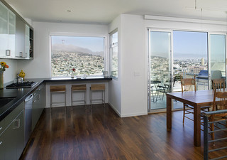 现代简约风格经济型140平米以上阁楼露台装修效果图