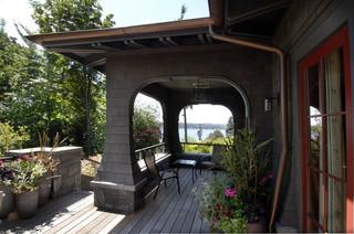 新古典风格富裕型140平米以上卧室露台改造