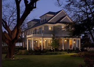 现代欧式风格富裕型140平米以上家庭庭院效果图