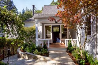 现代田园风格经济型140平米以上庭院围墙装修图片